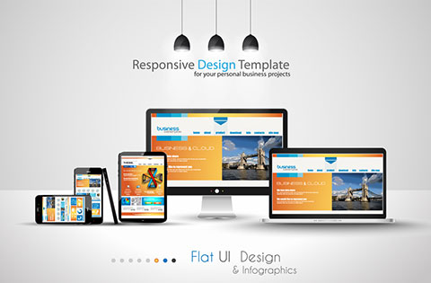 Bespoke responsive website design